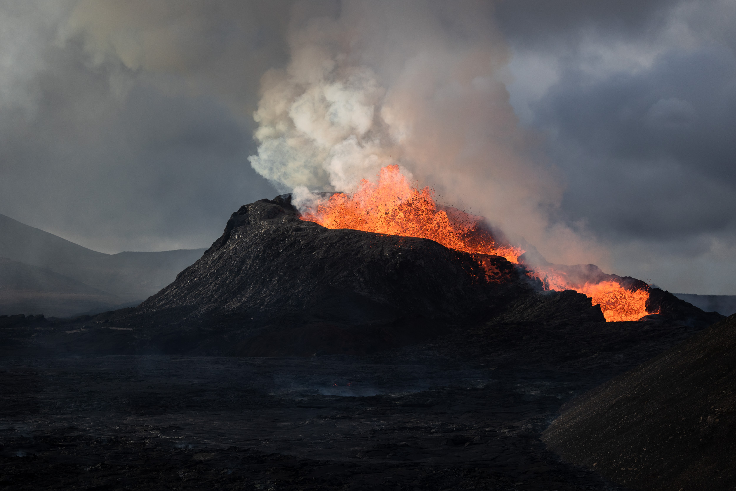 My Photographic Journey of a Volcanic 10 Weeks